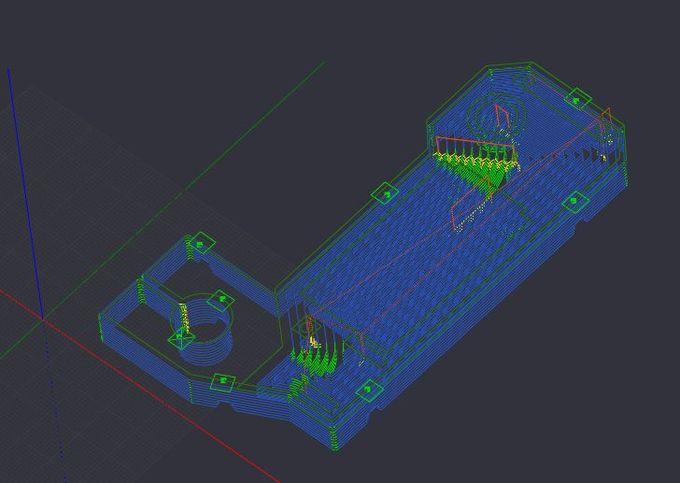 Modèle CNC module entrainement