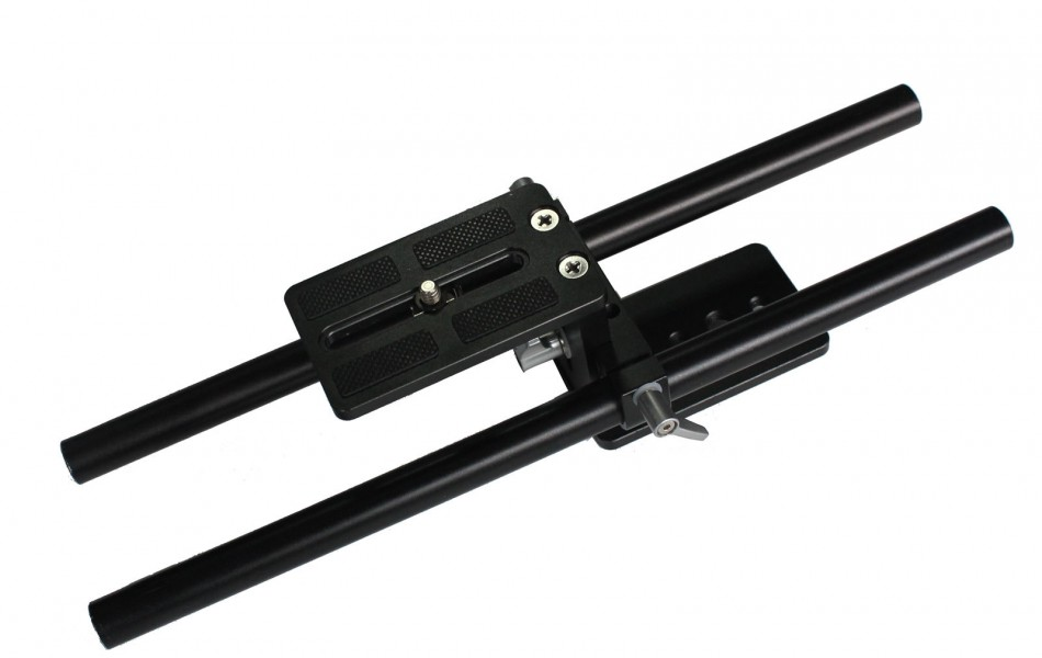 Rail rod baseplate mount